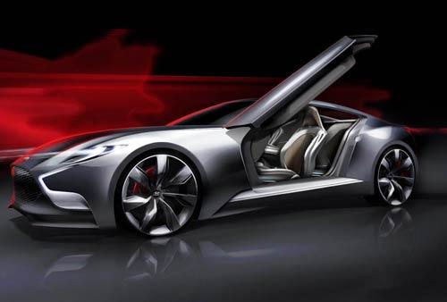 طراحی خودروی پرقدرت جنسیس کوپه V8 + تصاویر