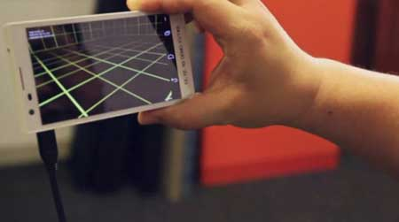 فرستادن تلفن های هوشمند به فضا + عکس