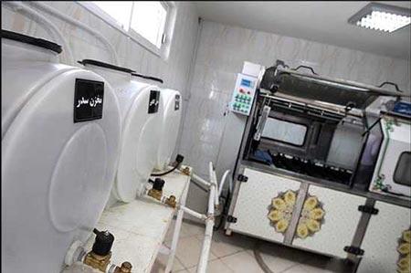 ساخت دستگاه مرده شور اتوماتیک در مشهد + عکس