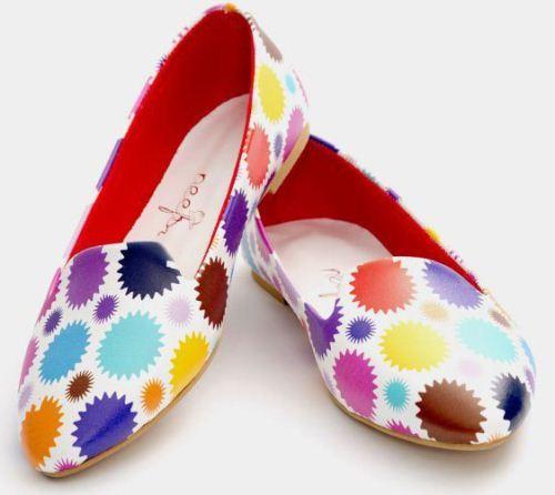 جدیدترین مدل کفش دخترانه با رنگ بندی شاد