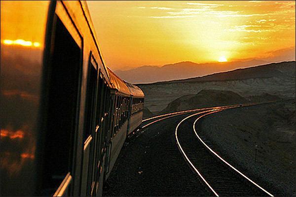 عکسی تاریخی از اولین قطار ایران
