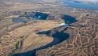 تبدیل عریض ترین آبشار جهان به دره ای خشک