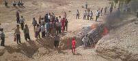 4 نفر سرنشین یک خودرو در آتش سوختند + عکس