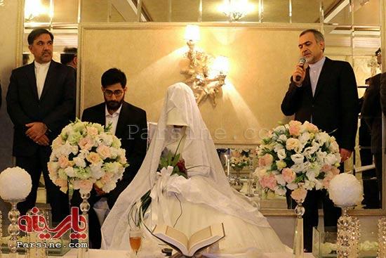 دامادی که در ماه عسل خواستگاری کرد ازدواج کرد + عکس
