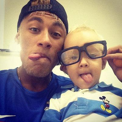 پدر شدن نیمار، ستاره فوتبال برزیل + تصاویر
