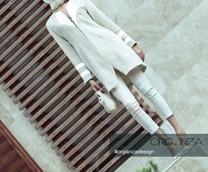 مدل مانتو شیک زنانه و دخترانه برند اورگانزا