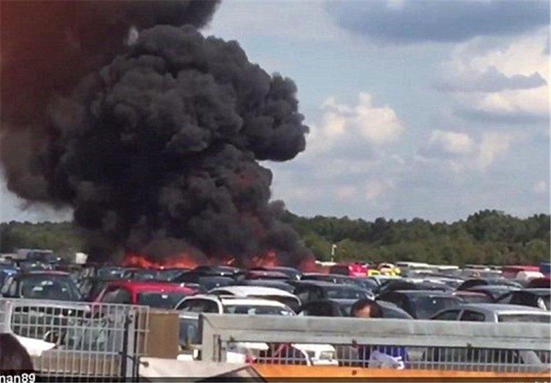 هواپیمای بن لادن باز هم سقوط کرد + عکس