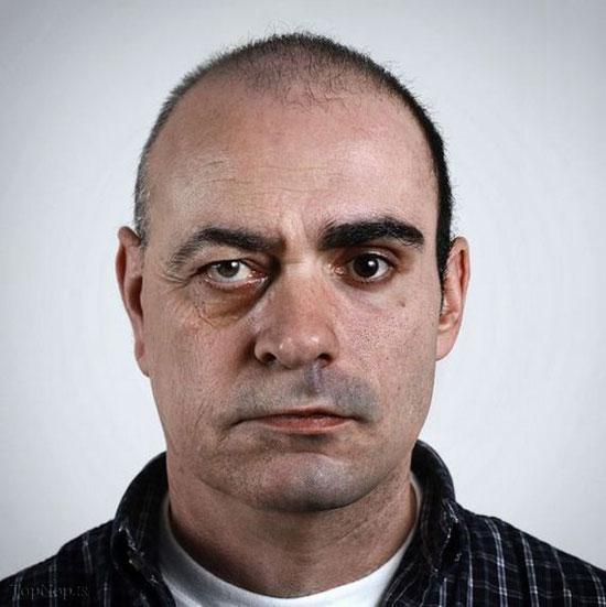 عکس های دیدنی از ترکیب دو چهره