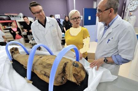 تحقیقات جدید روی مومیایی افراد قدیم
