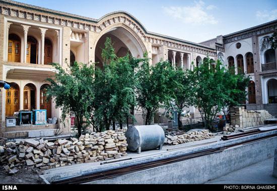 خانه های تاریخی کم نظیر در کاشان + تصاویر