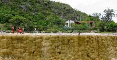 عکس های دیدنی از آبشار خارق العاده hireve در مکزیک