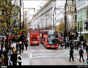 آلوده ترین خیابان دنیا در لندن (عکس)