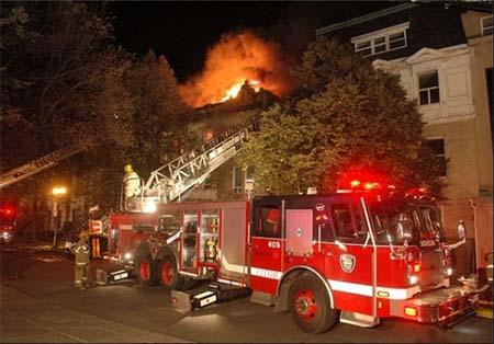 آتش گرفتن خانه به خاطر کشتن یک عنکبوت