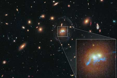 کشف جدید رشته مروارید توسط محققان ناسا