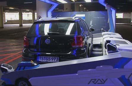 طراحی دستگاهی برای پارک کردن اتوماتیک خودرو