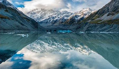 تصاویر دیدنی از جزیره جنوبی شگفت انگیز نیوزیلند