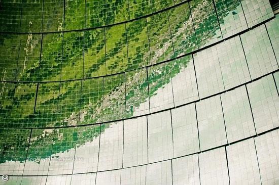 آشنایی با بزرگترین کوره خورشیدی در جهان