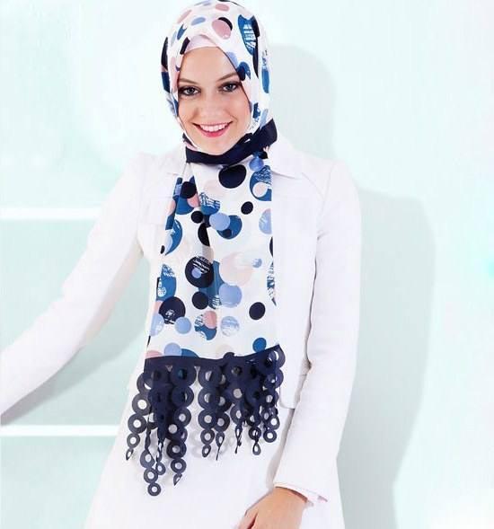 مدل شال و روسری اسلامی جدید