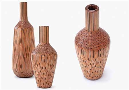 ساخت گلدان های جالب با استفاده از مداد + تصاویر