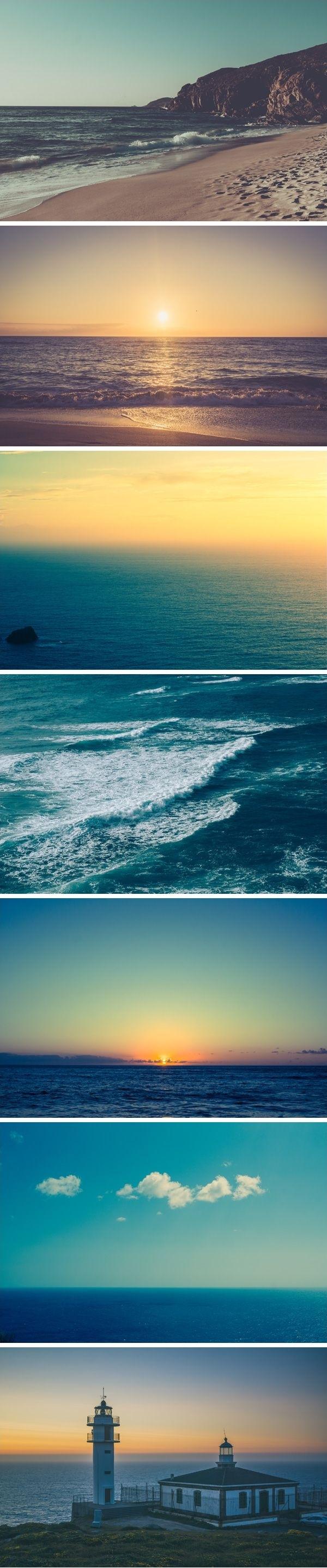 تصاویری زیبا از امواج خارق العاده دریا
