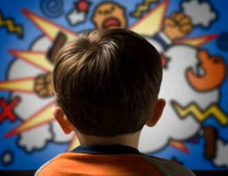تاثیرات برنامه های تلویزیون بر روی کودکان