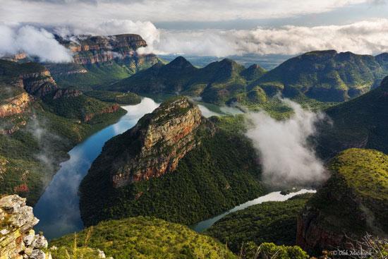 عکس هایی دیدنی و بی نظیر از زیباترین دره های جهان