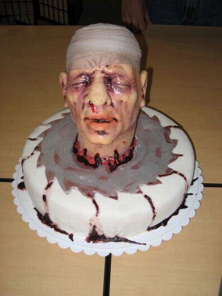 عکس های عجیب کیک های تولد وحشتناک و چندش آور