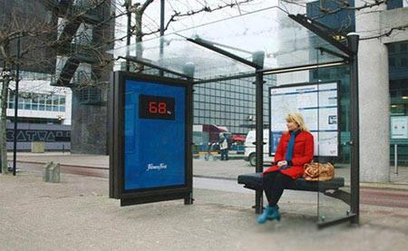 عکس های دیدنی از ایستگاه های اتوبوس عجیب و خلاقانه