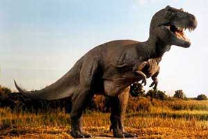 سگی که مثل دایناسورها رفتار میکند (عکس)