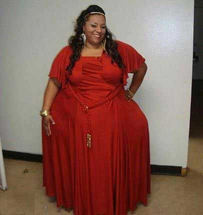 خانمی با بزرگترین باسن جهان (عکس)