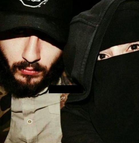 سلفی های عشقولانه و جالب یک زوج داعشی