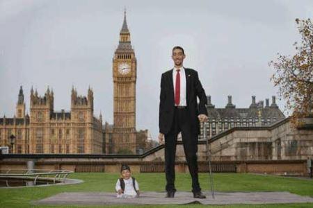تولد جالب کوتاه قدترین مرد دنیا (عکس)