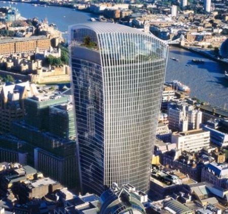 زشت ترین برج لندن معرفی شد (+عکس)