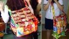 ساخت یک کیف جالب با پوست خوردنی ها !