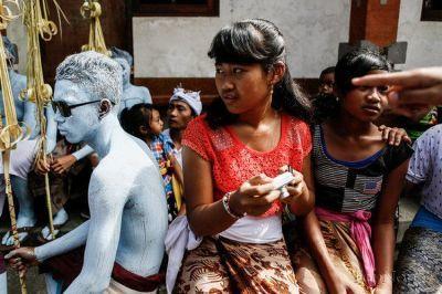 عکس هایی جالب از فستیوال دور کردن ارواح شیطانی