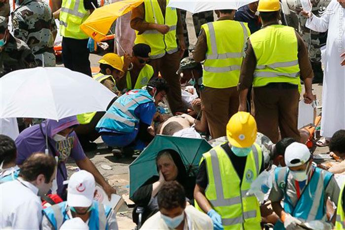 عکس های جدید از حادثه غم انگیز منا