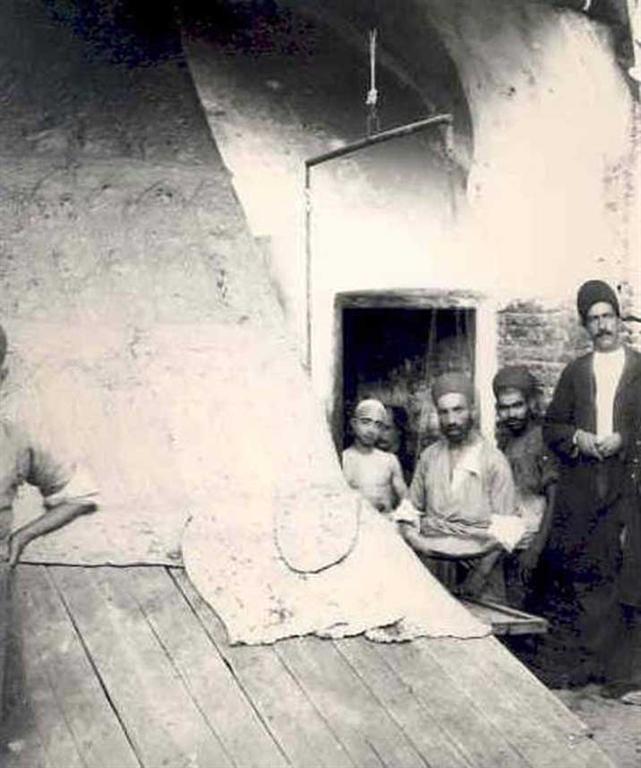 عکس نانوایی در تهران قدیم