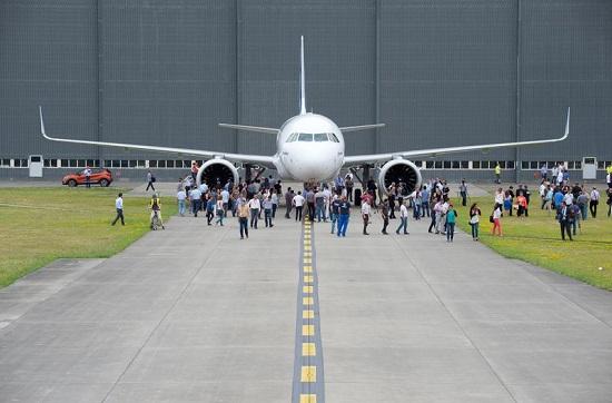 ورود هواپیمای ایرباس جدید 320 نئو به خطوط هوایی