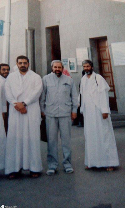 عکسی از 20 سال پیش محمدجواد ظریف در مسجد قبا