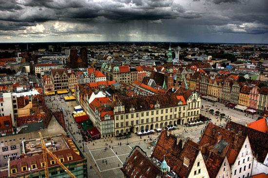 شهرهای رنگین کمان در جهان + عکس