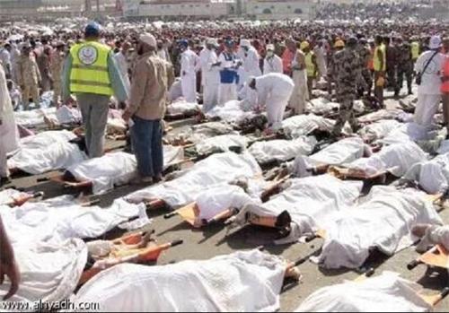 تلفات ازدحام جمعیت در مراسم حج - اعلام اسامی 119کشته شده ایرانی