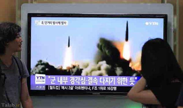 تست توان موشکی روی دو موشک در کره شمالی