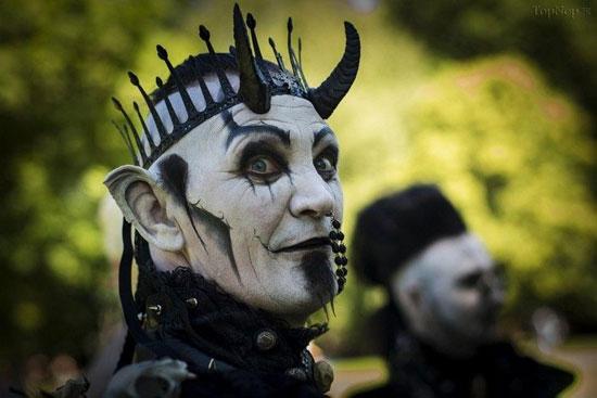 تصاویر جشنواره عجیب و غریب لباس در لیپزیک آلمان