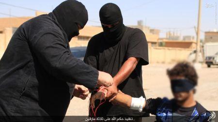 قطع کردن دست 3 مرد به اتهام دزدی + عکس
