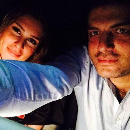 سام درخشانی و احساس خوشبختی با همسرش (عکس)