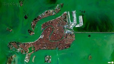 10 نمونه از دیدنی ترین تصاویر ماهواره ای جهان