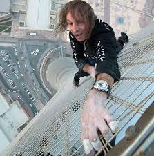 مرد عنکبوتی 75 طبقه را بالا رفت + عکس