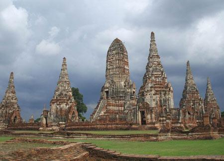 معرفی و عکس از زیباترین معبد تایلند (چای واتانارام)
