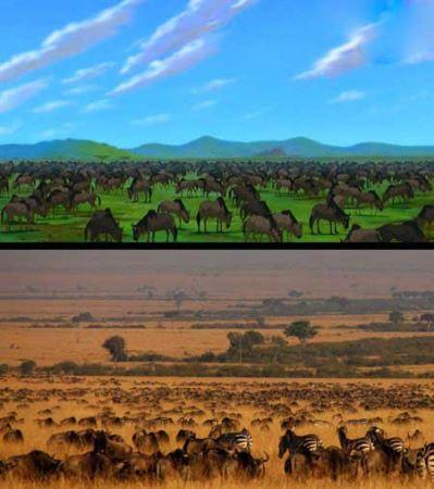 10 مکان واقعی در انیمیشن های دیزنی + عکس