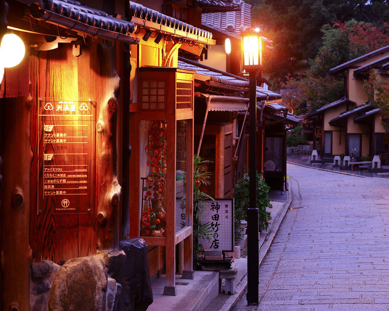 عکسهایی از دیدنی ترین شهر جهان در ژاپن